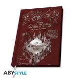 Agenda/Jurnal licenta Harry Potter - Harta Marauder