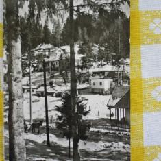Borsec - peisaj de iarna - CP circulata 1968