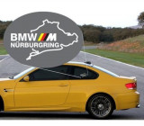 Sticker auto geam BMW M