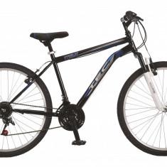 """Bicicleta MTB TEC Titan Suspensie Fata ,Culoare negru/albastru, Roata 26"""" OtelPB Cod:202621000007"""