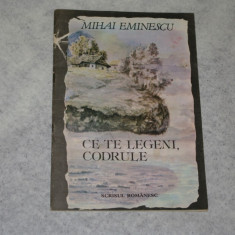 Ce te legeni, codrule - Mihai Eminescu - 1989