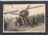 1945  AVION  AMERICAN  DOBORAT  FOTO  AGFA, Necirculata, Fotografie