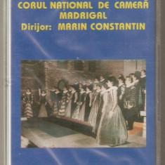 Caseta Corul Național De Cameră Madrigal, originala, sigilata