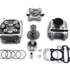 Kit Cilindru Set Motor + Chiuloasa Scuter First Bike - Byke 4T 80cc 47mm