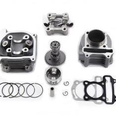 Kit Cilindru Set Motor + Chiuloasa Scuter Kymco - Kimco 4T 80cc 47mm
