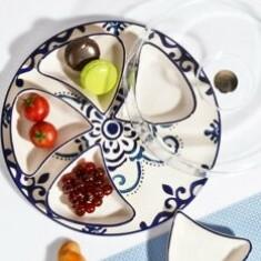 Set pentru mic-dejun Kosova, 430KSV1330, ceramica 100 procente, 12 x 12 x 4 cm