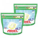 Cumpara ieftin Detergent capsule Ariel All in One PODS Sensitive, 80 spalari (2x40)