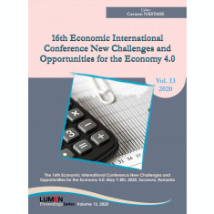 16TH Economic international conference NCOE 4.0 2020 - Carmen NASTASE (editor)