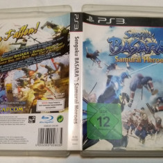 [PS3] Sengoku Basara - Samurai Heroes- joc original Playstation 3
