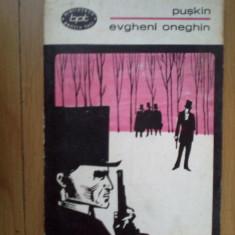 z1 Evgheni Oneghin – A. S. Puskin