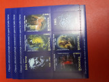 Centenarul  jules verne  bloc timbre 2005
