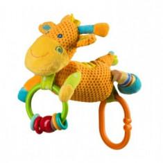 Jucarie educationala de plus zornaitoare BabyOno Girafa1325