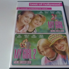 My girl -1,2, DVD, Engleza