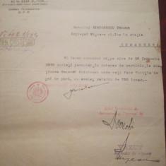 1929 Directiunea CFR, Teodor Simionescu, impeg. misc., Comănești, Gral Cristescu