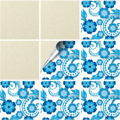 """Sticker Autocolant Faianta Decorativa """"Kitchen Design"""" model K-FAI-212 (pret/bucata)"""