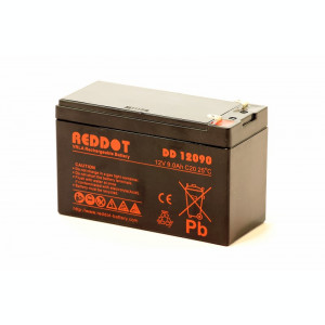 Acumulator stationar 12V 9Ah, Plumb Acid VRAL AGM Reddot