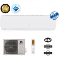 Aer conditionat Gree Muse GWH12AFB-K6DNA1A, 12000 BTU, A++/A+, Wi-Fi, Inverter, Generator Cold Plasma, Afisaj LED, Alb, Kit de instalare inclus