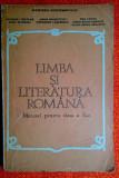 Limba si literatura romana  Manual pentru clasa a X-a - N.I. Nicolae, E.Leahu