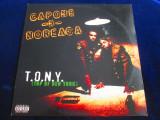 "Capone N Norenga - T.O.N.Y. (Top Of New York)_12""maxi single_Penalty(1997,SUA), VINIL"