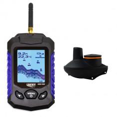 Aproape nou: Sonar pescuit PNI Fish Seeker US530, wireless, ecran LCD 2.8 inch, pro