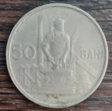 (MR36) MONEDA ROMANIA - 50 BANI 1955, REPUBLICA POPULARA ROMANA. KM#86