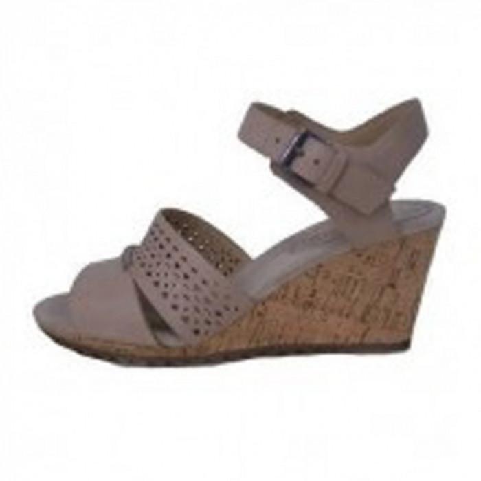 Sandale dama, din piele naturala, marca Geox, D52C3A-03-06, bej , marime: 36