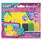 Set creativ mini-mozaic Brainstorm, 200 autocolante, 3 ani+, model pestisor