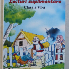 LECTURI SUPLIMENTARE CLASA a - VI - a - SELECTIE de STEFANIA DUMINICA , NICOLETA STANICA , 2008