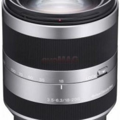 Obiectiv Foto Sony SEL-18200 f/3.5-6.3 (Argintiu)