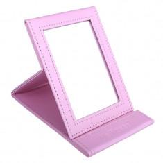 Oglinda pentru cosmetica Lila Rossa, roz