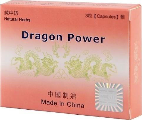 Tablete pentru imbunatatirea performantelor sexuale Dragon Power