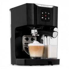 Klarstein BellaVita, mașină de cafea, 1450 W, 20 bar, spumă de lapte, 3 în 1, negru