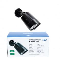 Resigilat : Camera supraveghere video PNI IP5MP cu IP, 5MP, H.265, ONVIF, de exter