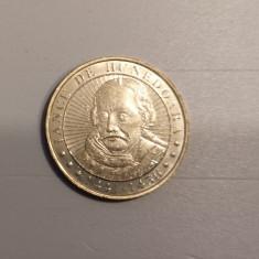 50 bani 2016, Iancu de Hunedoara, România, UNC (din fișic)