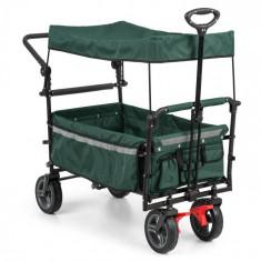 Waldbeck Easy Rider, cărucior cu acoperiș încărcare de până la 70 kg, verde foto