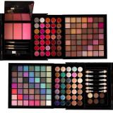 Trusa Machiaj Multifunctionala 177 culori Mix & Go + CADOU Set 15 pensule SensoPRO Milano, Fraulein38