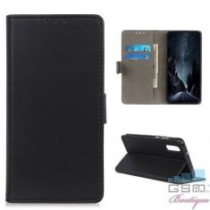 Husa Flip Cu Stand Samsung Galaxy A50 Neagra
