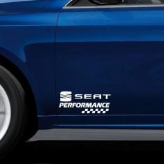 Stickere portiere PERFORMANCE - SEAT (set 2 buc)