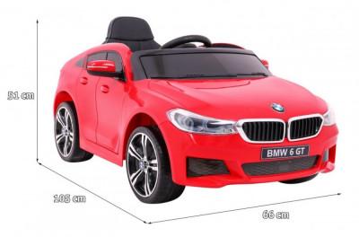 Masinuta electrica BMW 6 Series GT, rosu foto