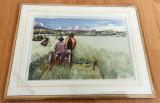 Carte Postala  - de colectie - Villeroy and Boch - Carl Larsson - Recolta