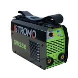 Aparat de sudura invertor STROMO SW 250 , 250 Ah, accesorii incluse, electrod 1.6-4mm Autentic HomeTV