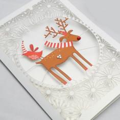 Felicitare - Reindeer Christmas   Alljoy Design