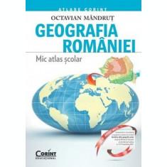 Geografia României. Mic atlas școlar