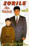 Caseta Zorile din Galați – Vol.6 - Cu lacrimi în ochișori, originala, Casete audio