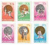 România, LP 805/1972, J.O. de Vară, Munchen - Medalii olimpice, MNH, Nestampilat