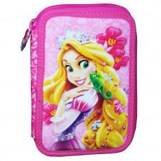 Penar fetite Rapunzel, 20 cm, Roz