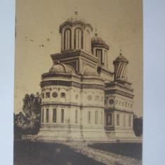 Carte postala Curtea de Arges circulata 1925,cu autografe ziaristi si scriitori, Printata