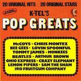 Pop Greats - K-Tel - 1974 - TG 115 ; 20 hituri originale  disc vinil mare