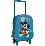Troler 3D Mickey Mouse, 38.5 x 28 x 13.5 cm