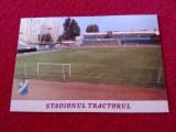 "Carte postala fotbal - Stadionul ""TRACTORUL"" BRASOV"